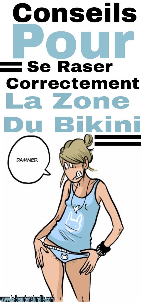 Conseils pour se raser correctement la zone du bikini
