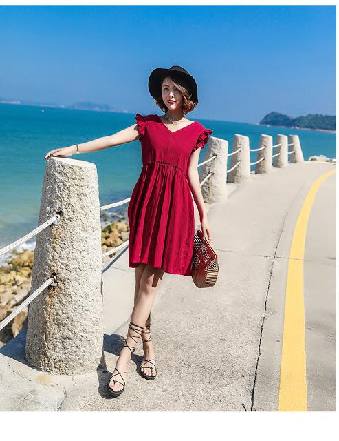 Shop ban vay maxi tai Hai Ba Trung