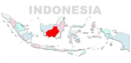 image: Central Kalimantan Map