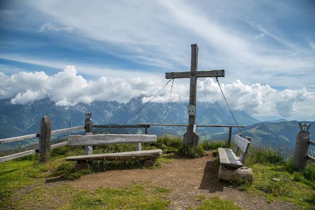 Almwanderung zur Hochkaseralm  Wandern Hochkönig  Wanderung SalzburgerLand 07