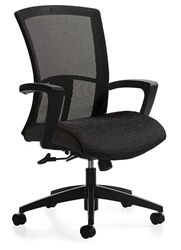 Vion Conference Chair with Fixed Arms