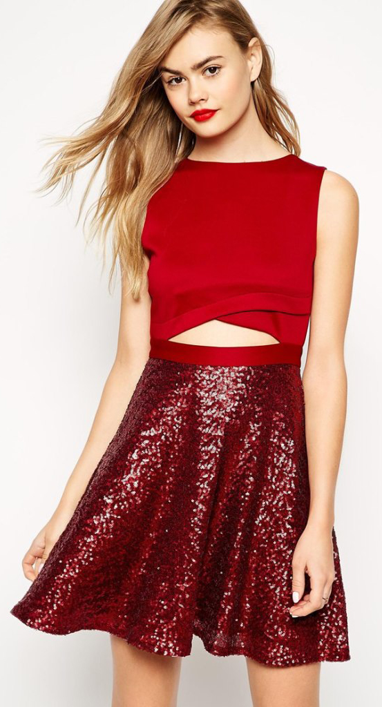 Cute Christmas Party Outfits To Copy Right Now #christmas #partyoutfits