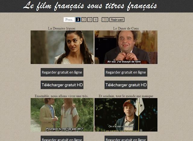 Αποτέλεσμα εικόνας για films francais en ligne
