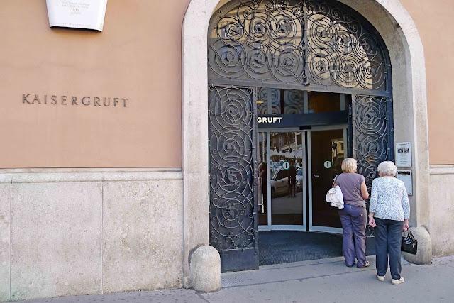 Kaisergruft Entrance