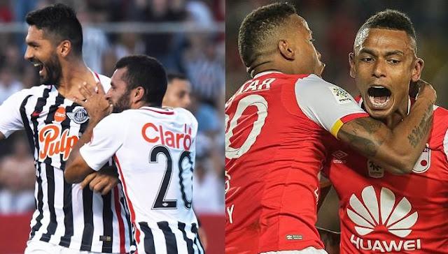 Ver Libertad vs Santa Fe en vivo Copa Sudamericana