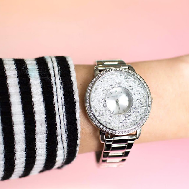 Origami Owl Silver Locket Watch available at StoriedCharms.com