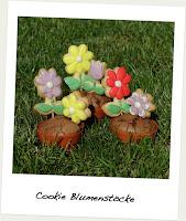 Alles Liebe Zum Muttertag Blumen Cookies Im Topf Cupcake Hexerl