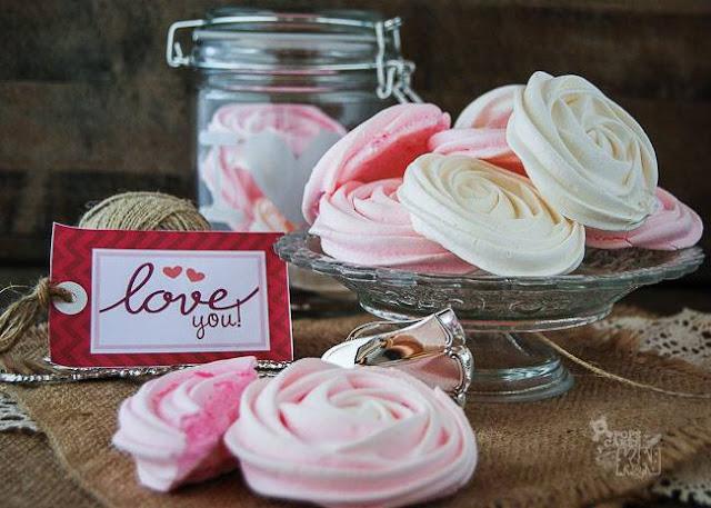 rosas de merengue