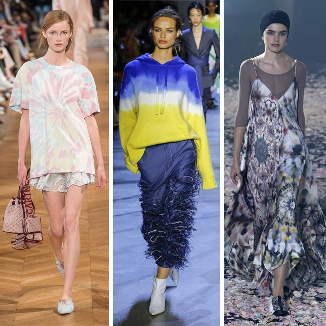 tie dye trend spring 2019