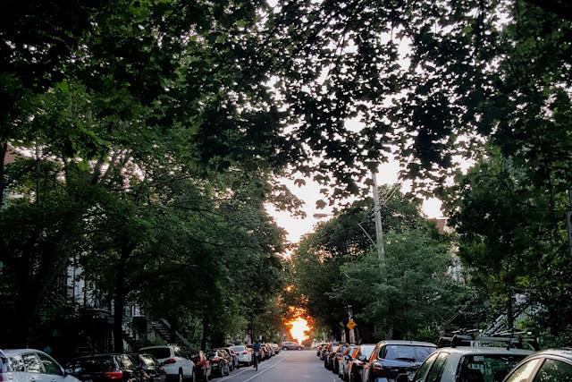 coucher de soleil montreal