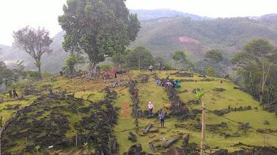 Tempat Wisata Sejarah Situs Gunung Padang Cianjur