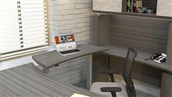 Sit To Stand Executive Workstation