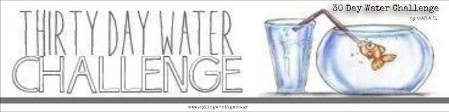🍶 30 Day Water Challenge (banner)  ΣΥΛΛΕΓΩ ΣΤΙΓΜΕΣ