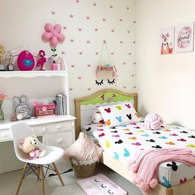 aksesoris untuk kamar tidur anak perempuan