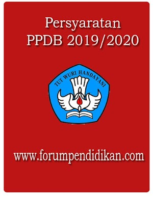 Persyaratan PPDB 2019/2020
