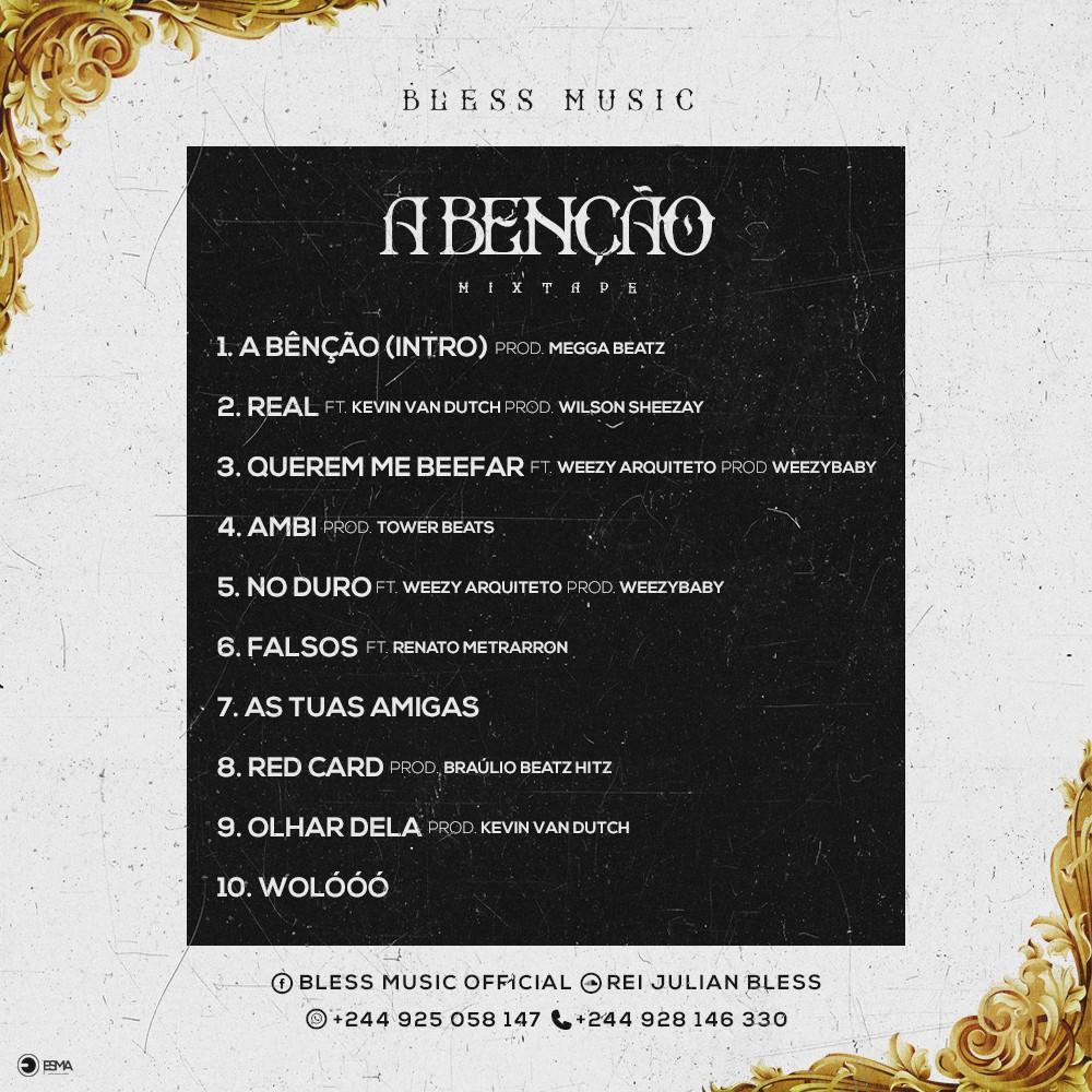 """Bless Music Mixtape """"A Benção"""" // Download"""