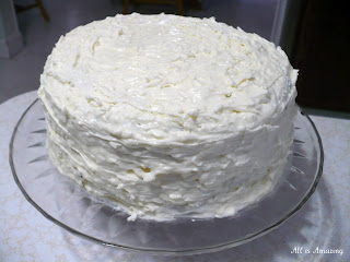 All Is Amazing Italian Coconut Cream Cake
