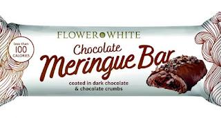 Flower &White Chocolate Meringue Bar