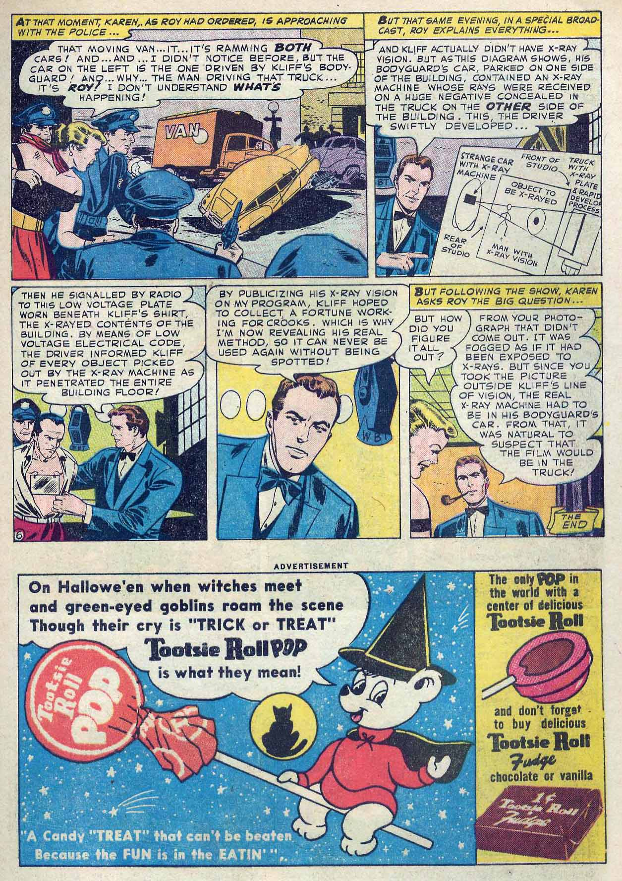 Read online Detective Comics (1937) comic -  Issue #262 - 23