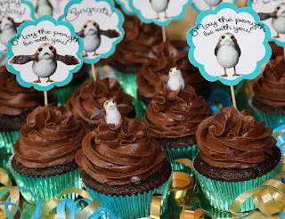 May The Porgth Be With You Porg Star Wars Day Cupcakes!