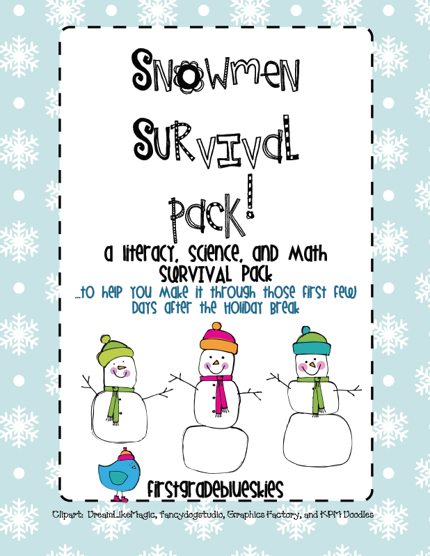Snowman All Year Book review and follow-up snowmen activities.
