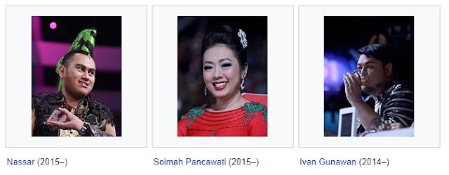 Komentator Dangdut Academy