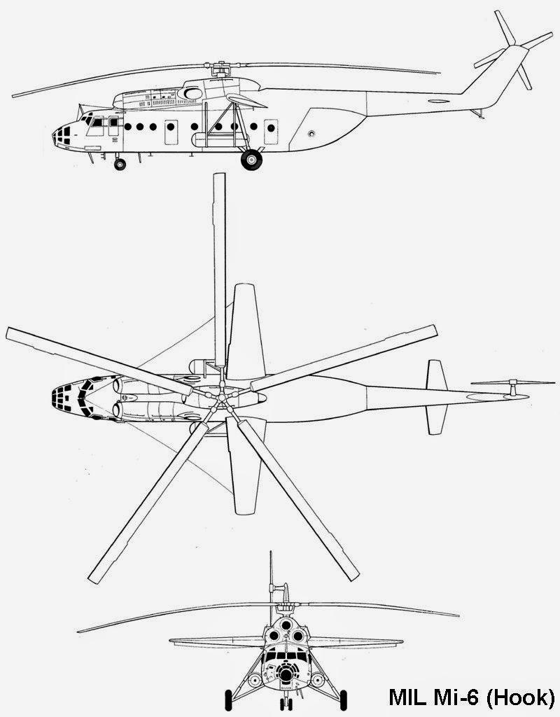 airplane scale modelkit  mil mi