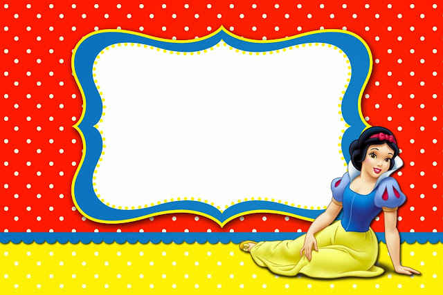 Snow White Free Printable Invitations Labels Or Cards Is It