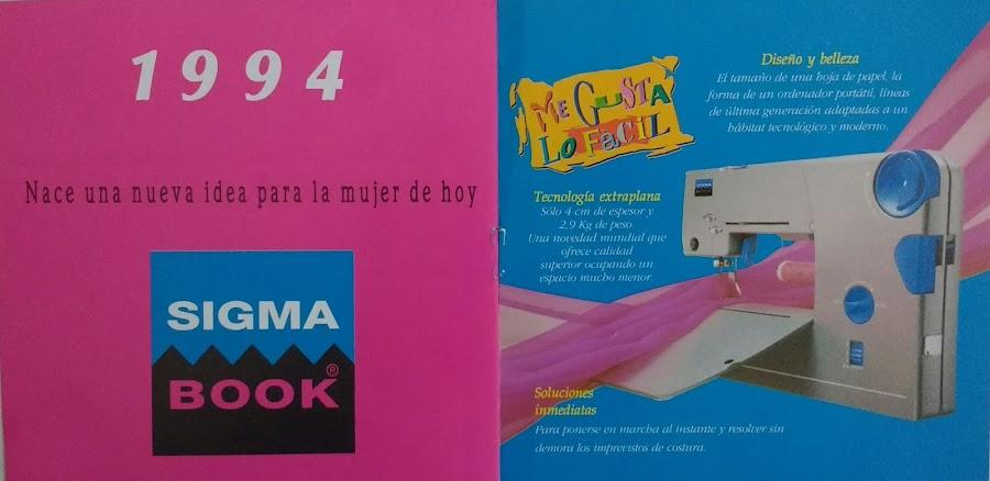 manual maquina de coser sigma book