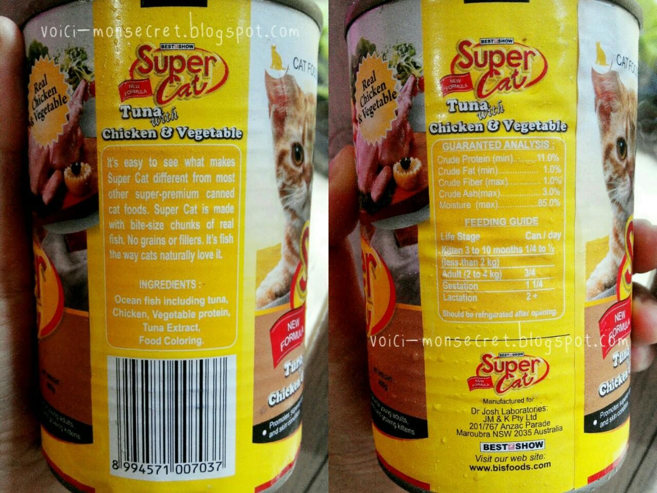 Makanan Kucing Super Cat Wet Food Tuna With Chicken Vegetable Isi 2 Pack Whiskas Can 400gr Basah Rasa Ocean Fish Satu