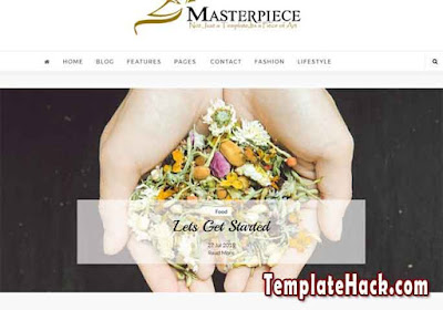 masterpiece carousel blogger template
