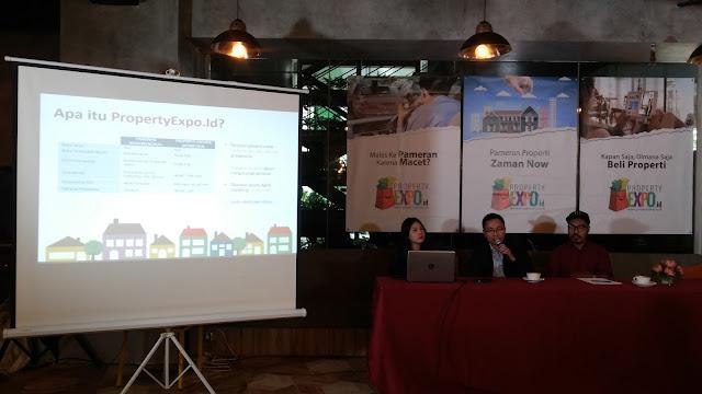 Pak Ali Tranghanda, CEO Indonesia Property Watch, sedang menjelaskan propertyexpo.id