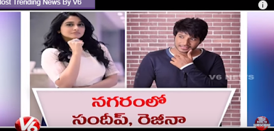 Sundeep Kishan And Regina Upcoming Movie Title As Nagaram