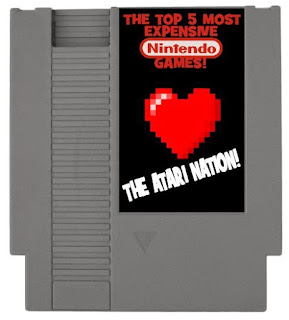 The Top 5 Most Expensive Classic Nintendo Games!