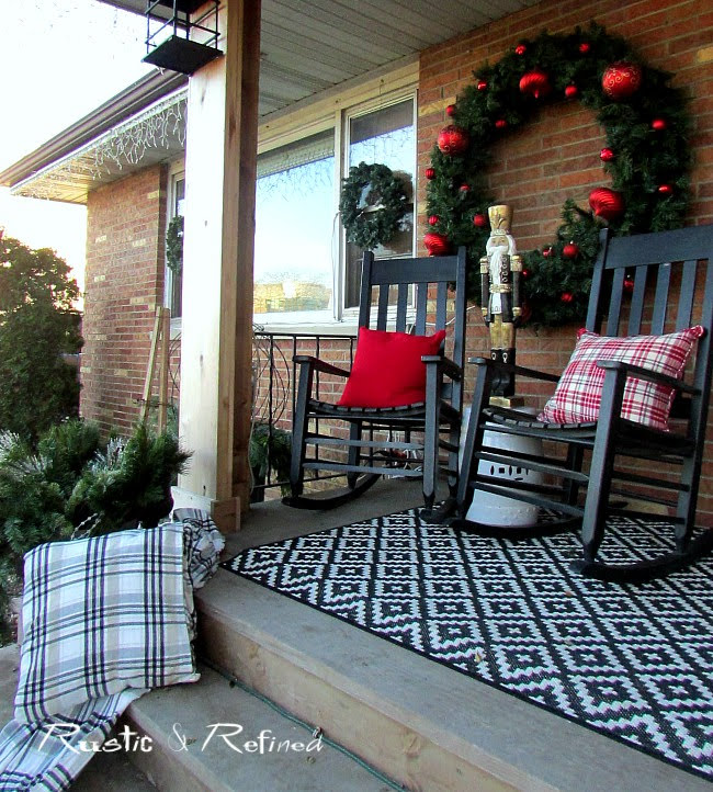 Holiday Front Porch Decor