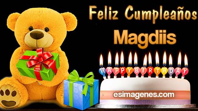 Feliz Cumpleaños Magdiis