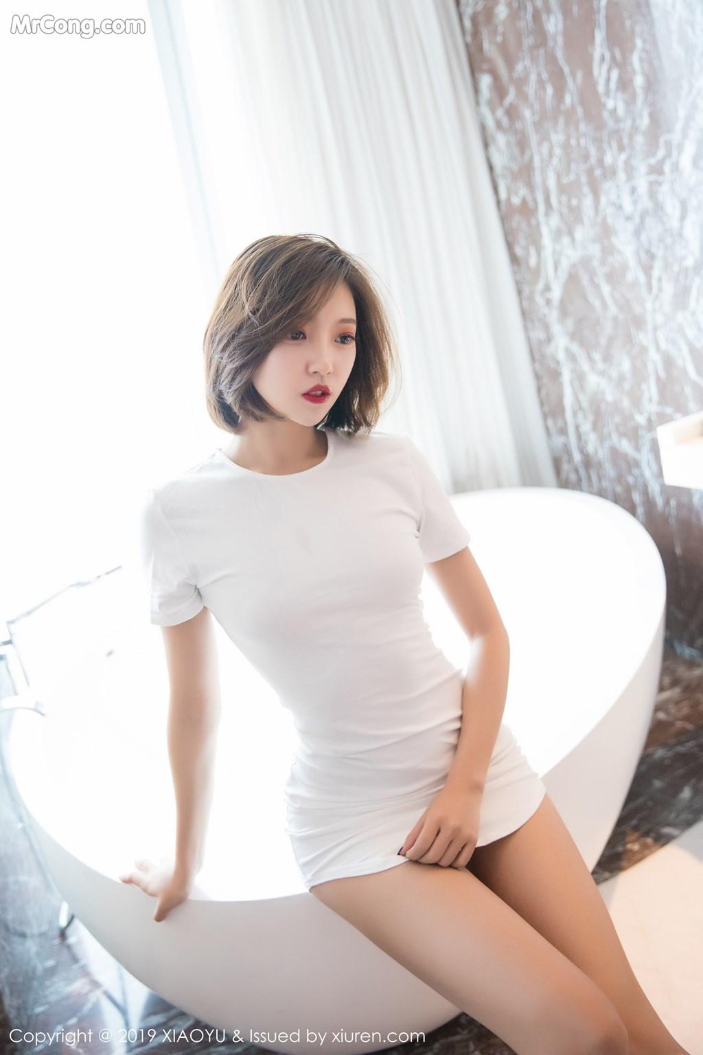 Image XiaoYu-Vol.039-LRIS-Feng-Mu-Mu-MrCong.com-010 in post XiaoYu Vol.039: LRIS (冯木木) (61 ảnh)