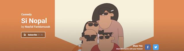 Komik Si Nopal Online di Ciayo Comics - Blog Mas Hendra
