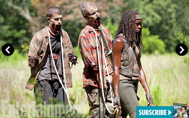 The Walking Dead 4x09 en EW - Michonne