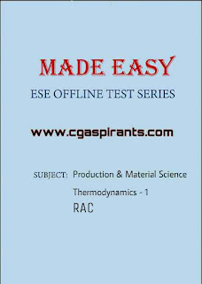 Download ESE 2019 Made Easy Test Series Pdf [Mechanical]