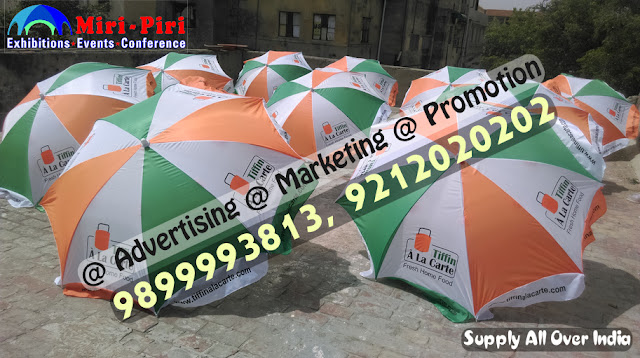 Promotional Umbrella , Business Promotional Umbrella, Outdoor Promotional Umbrella, Customized Promotional Umbrella, Printed Promotional Umbrella, Promotional Umbrella - Business Promotional Umbrella Manufacturer from New Delhi, India