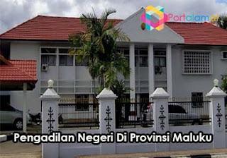 Alamat Pengadilan Negeri Di Maluku