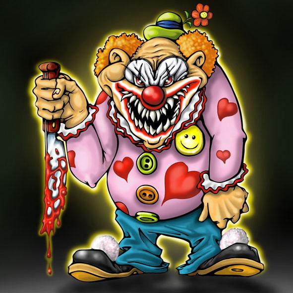 3d Clown Wallpaper Griffe Tattoo Tattoo Palha 199 O Macabro