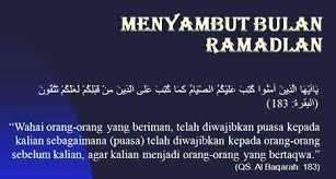 Renungan Awal Ramadhan 1437 H