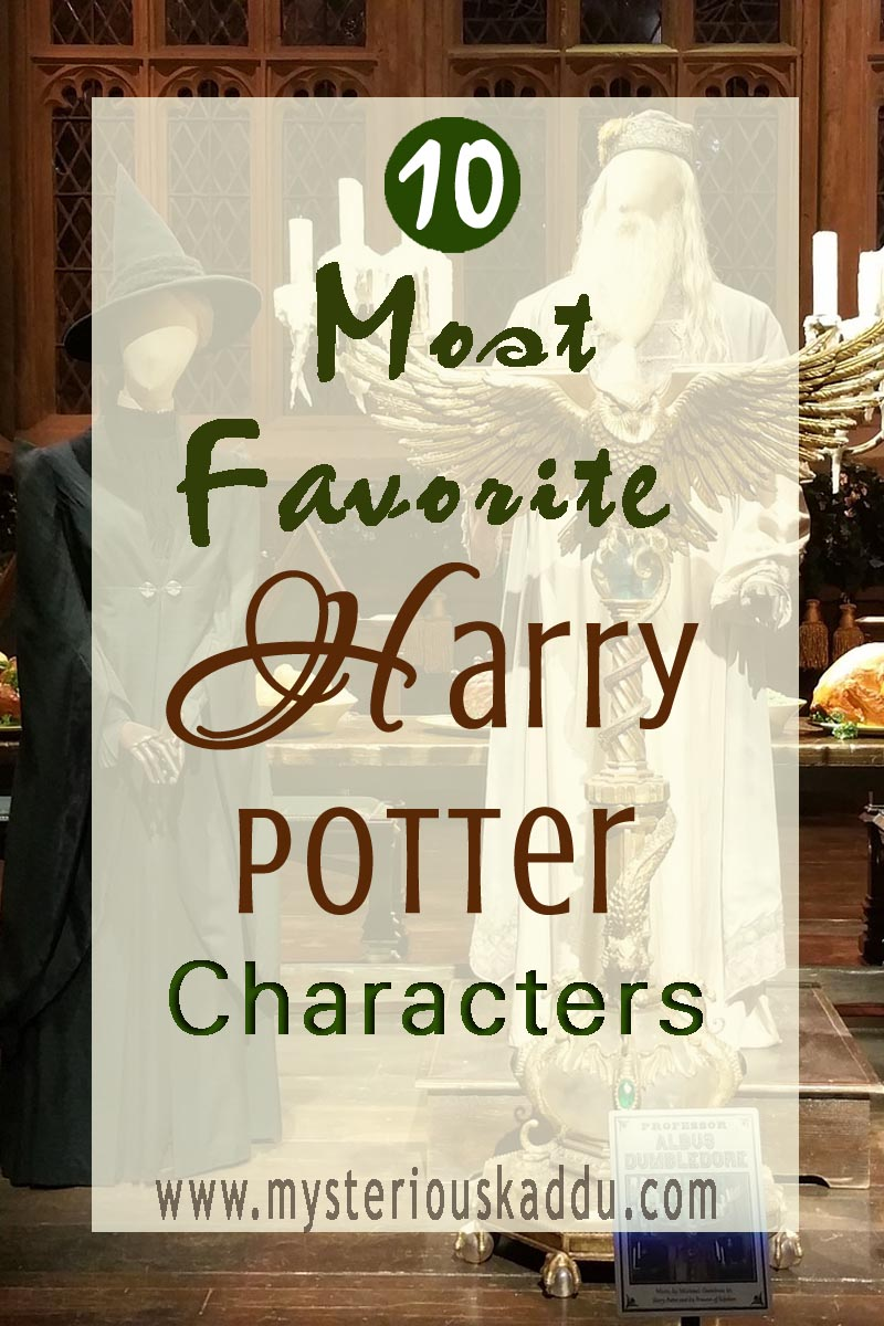 10 Favorite Harry Potter Characters