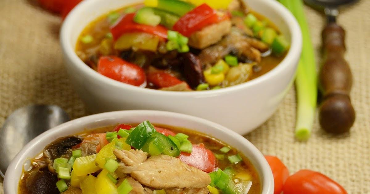 Apetyczna Babeczka Anielska Kuchnia Zupa Meksykańska