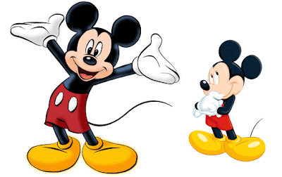 Gambar Mewarnai Mickey Mouse