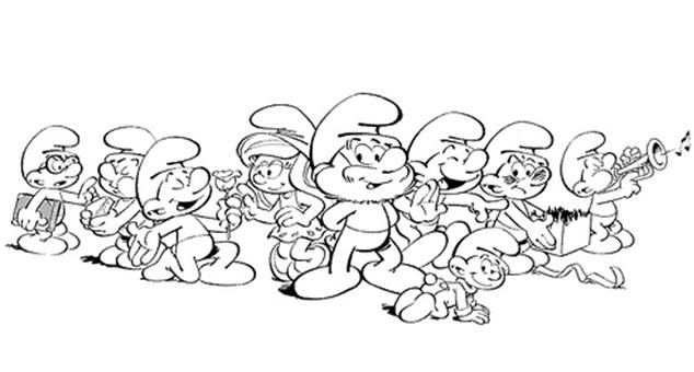 Dibujos De Los Pitufos Para Colorear Pitufos Imprimir Gratis: GRATIS Los Pitufos Para Colorear,pitufos Imprimir : Más