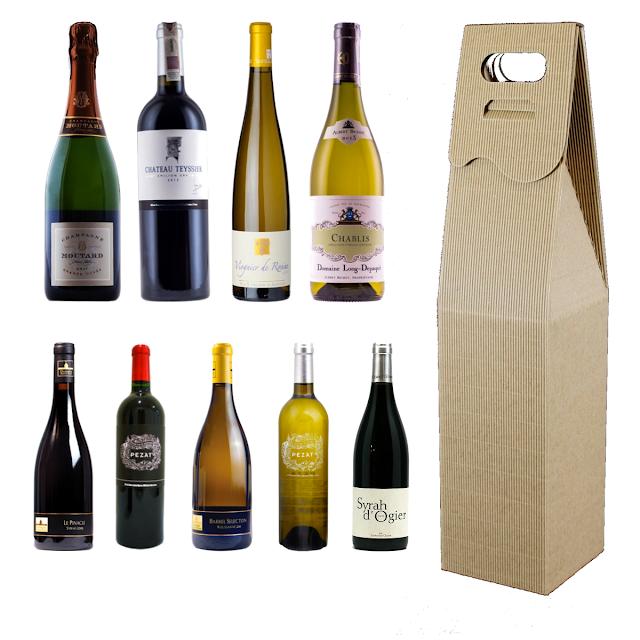 Pudełka na wino francuskie