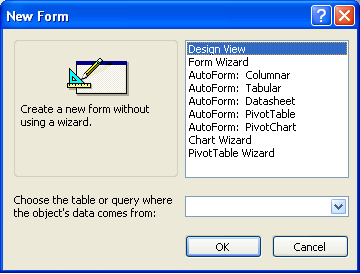 Create A Form Using An Auto Forms ~ Microsoft Office Support